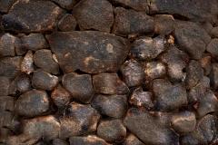 lavasteinwand textur und hintergrund