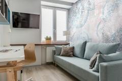 Study room with sofa
